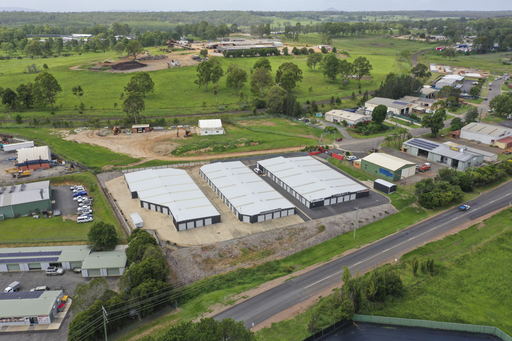 birds eye view storage shed