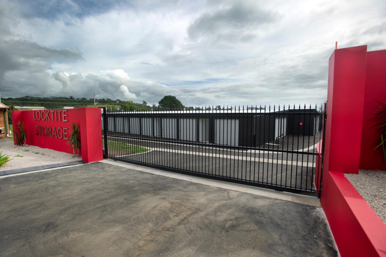 Locktite Storage front gate