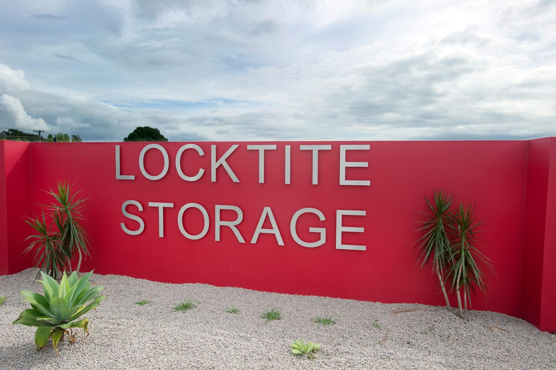 Locktite Storage Sign